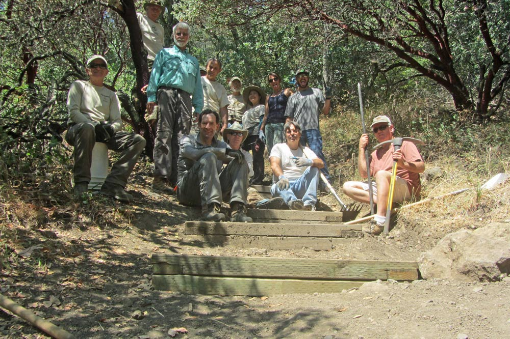 Trail Crew: Sonoma County Trails Council @ Sugarloaf Ridge State Park