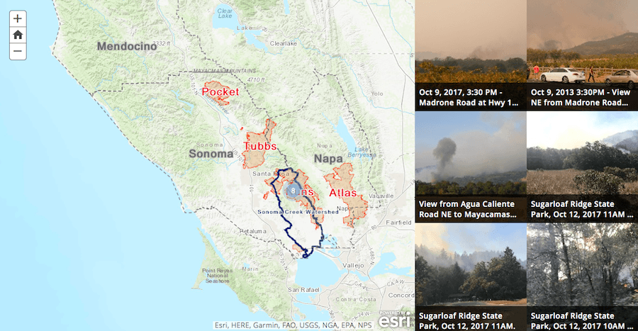 Upload Your Fire Photos To Our Wildfire Story Map Sonoma Ecology