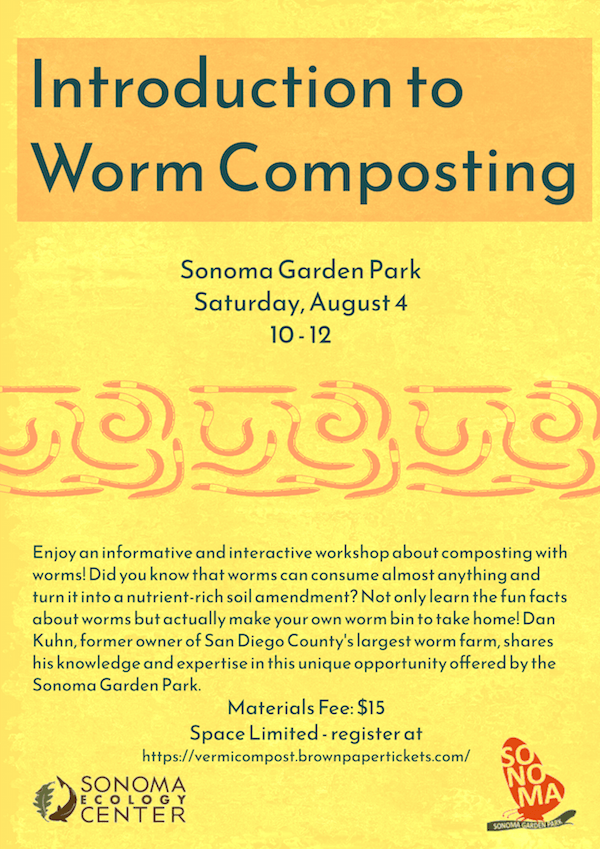 Introduction to Worm Composting @ Sonoma Garden Park